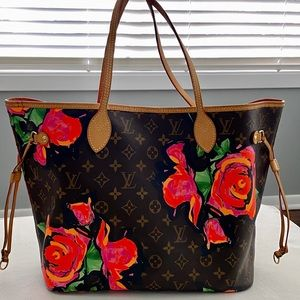 100% Authentic LV Stephen Sprouse Neverfull MM